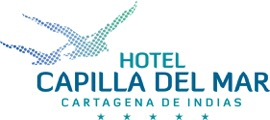 Logo del Hotel capilla del mar en Cartagena de Indias